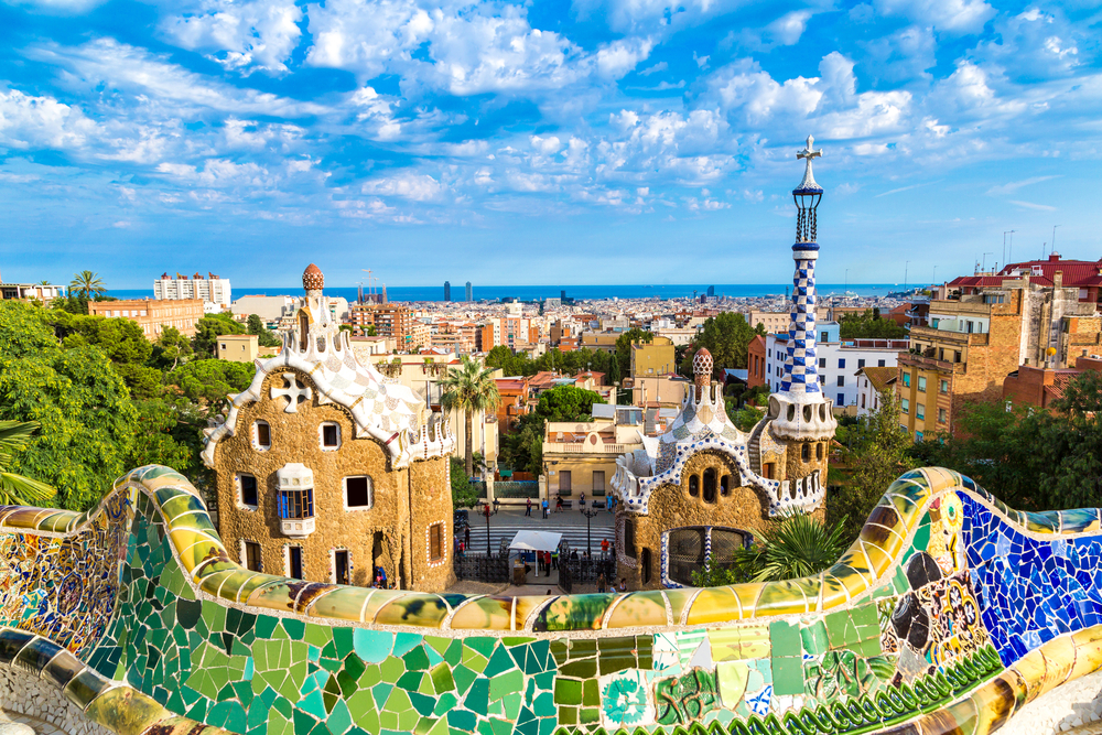 Barcelona - Parcul Guell