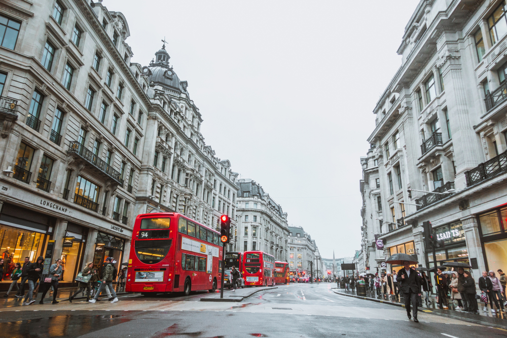 strazi Londra