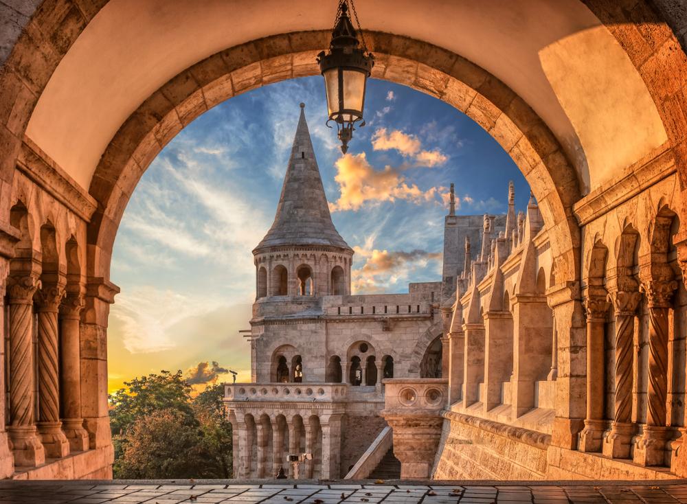 Budapesta - Bastionul Pescarului