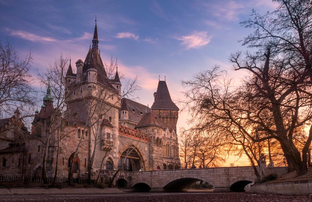 Budapesta - Castelul Vajdahunyad