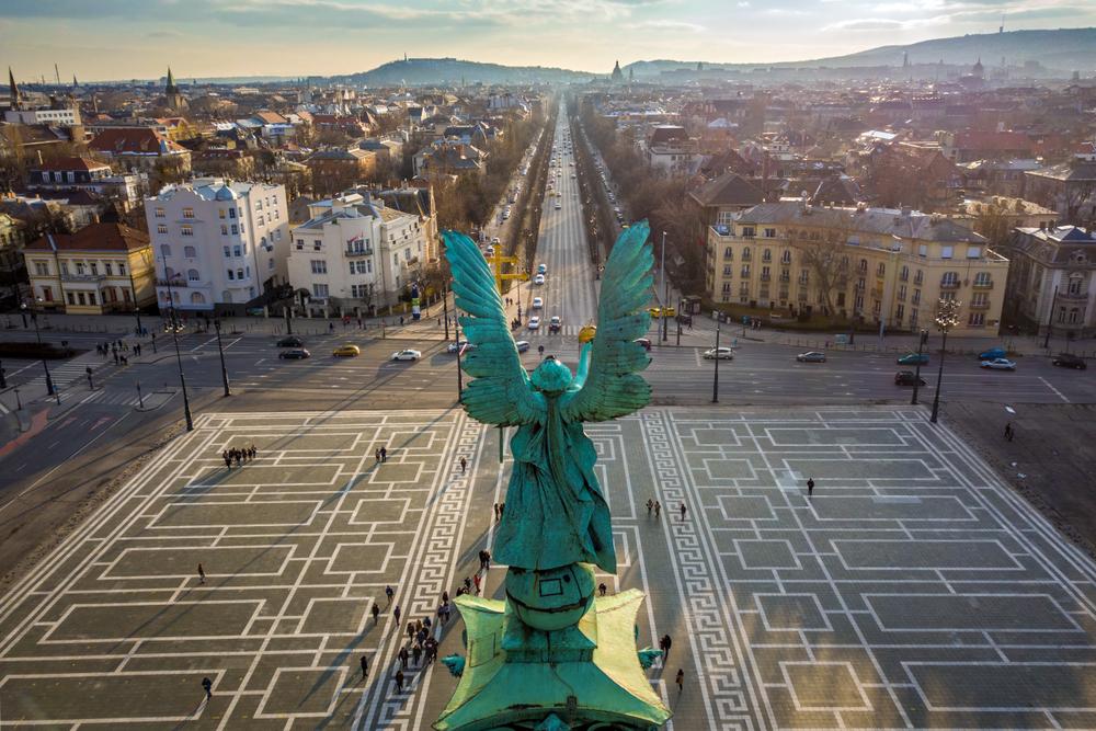 Budapesta - Piata Eroilor