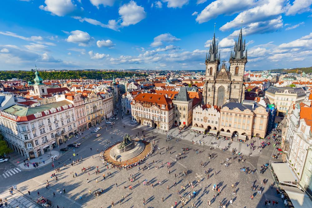 Praga - Piata orasului vechi