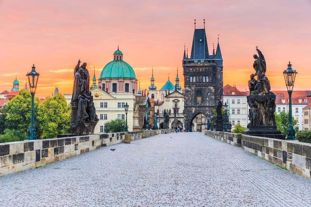 Praga - Podul Charles