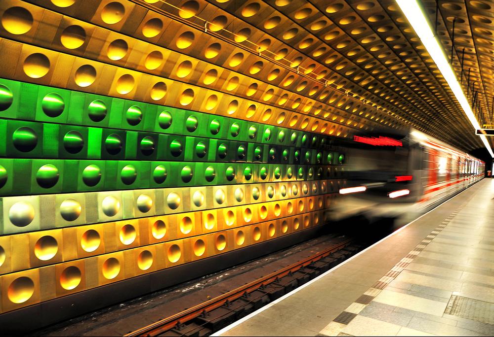 Praga - metrou