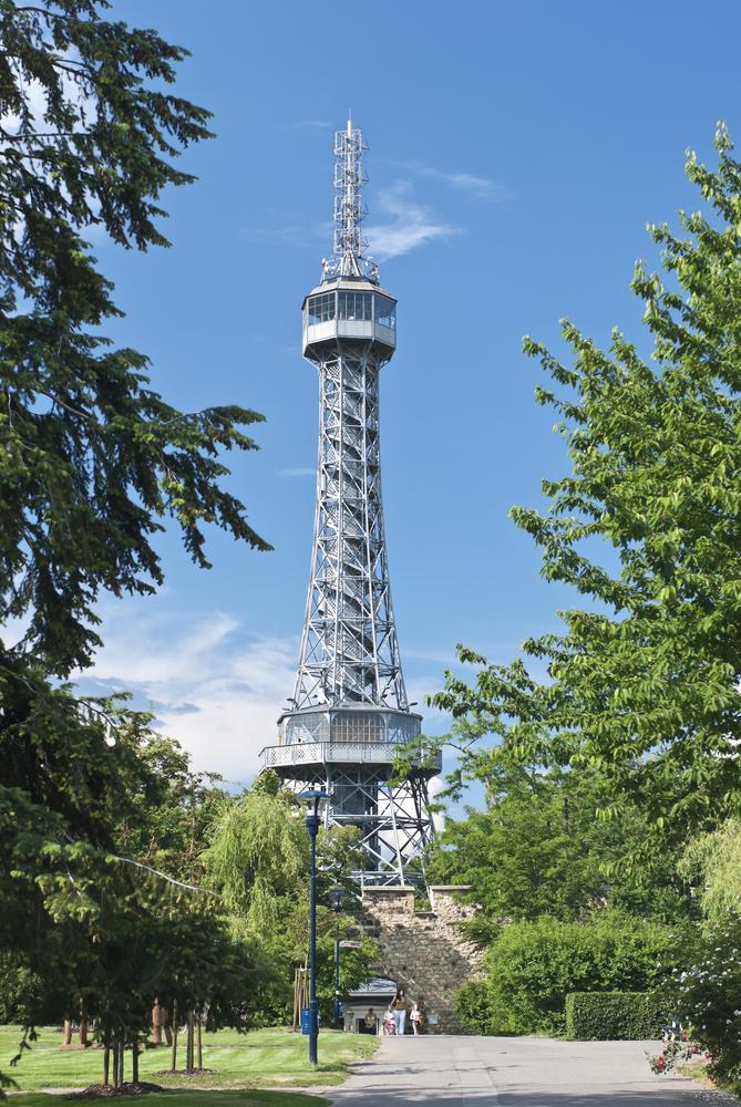 Praga - Turnul Petrin
