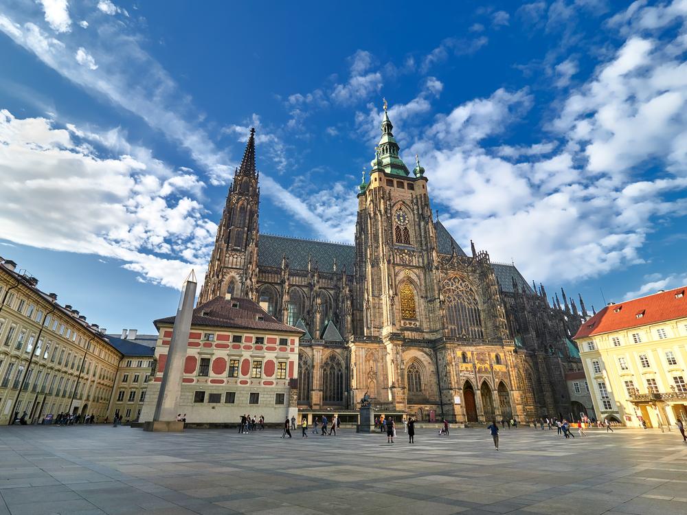 Praga - Catedrala Sf. Vitus