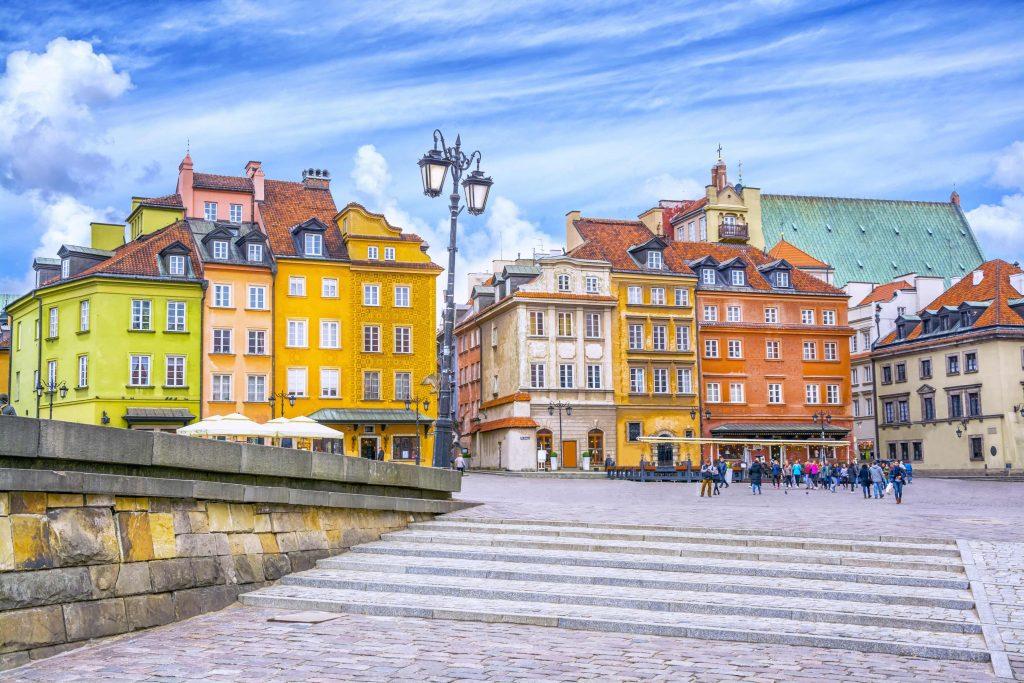 Varsovia - Piata Castelului